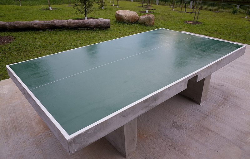 table de ping pong modeles